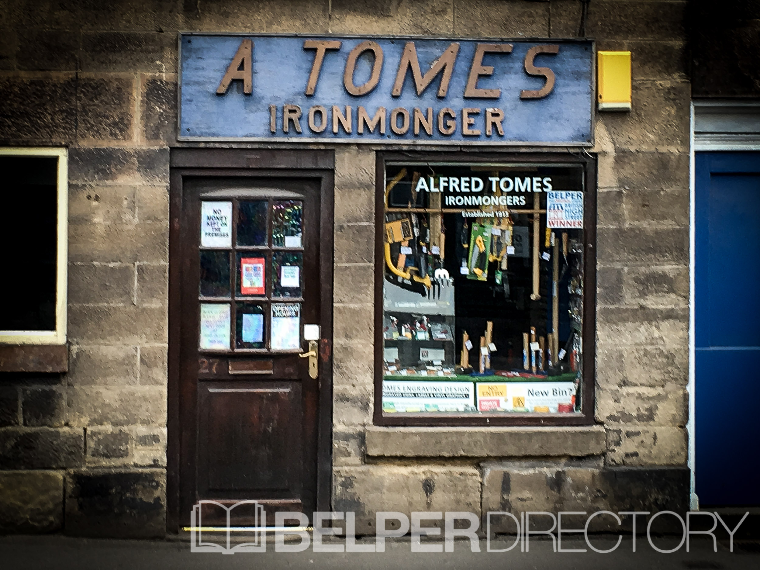A Tomes Ironmongers on Inter Search