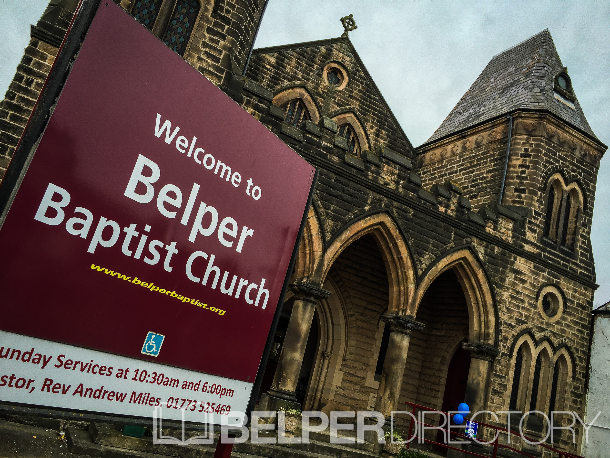 Belper Baptist Church on Inter Search