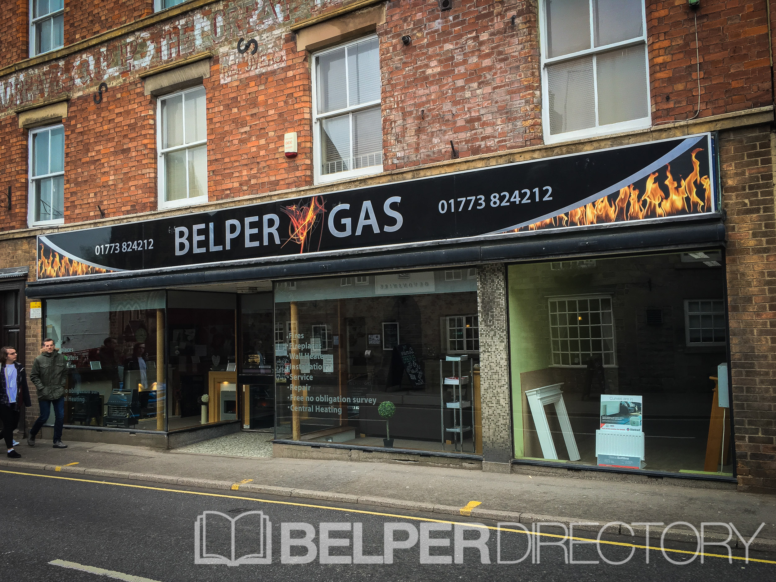 Belper Gas Showrooms on Inter Search