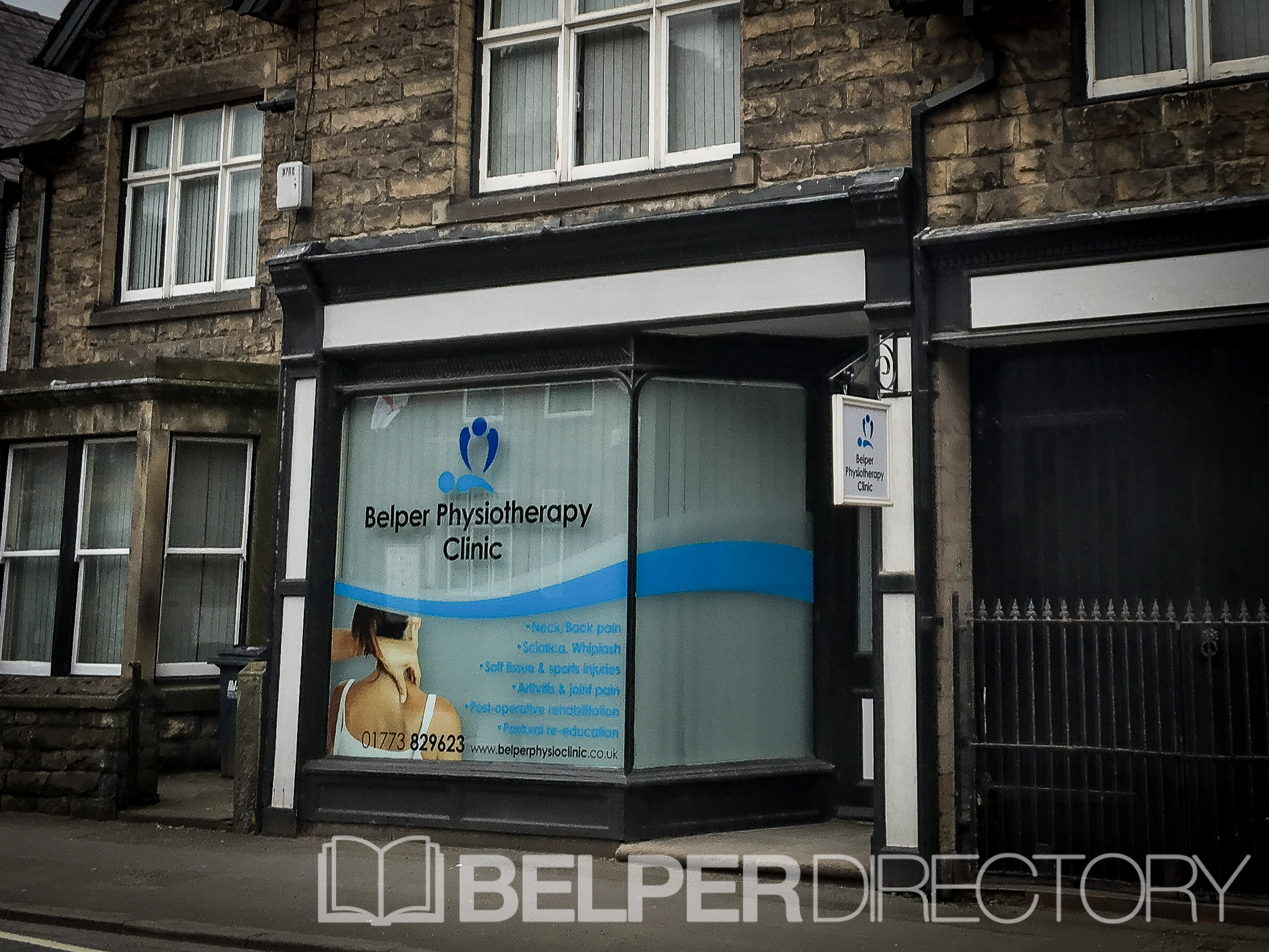 Belper Physiotherapy Clinic on Inter Search
