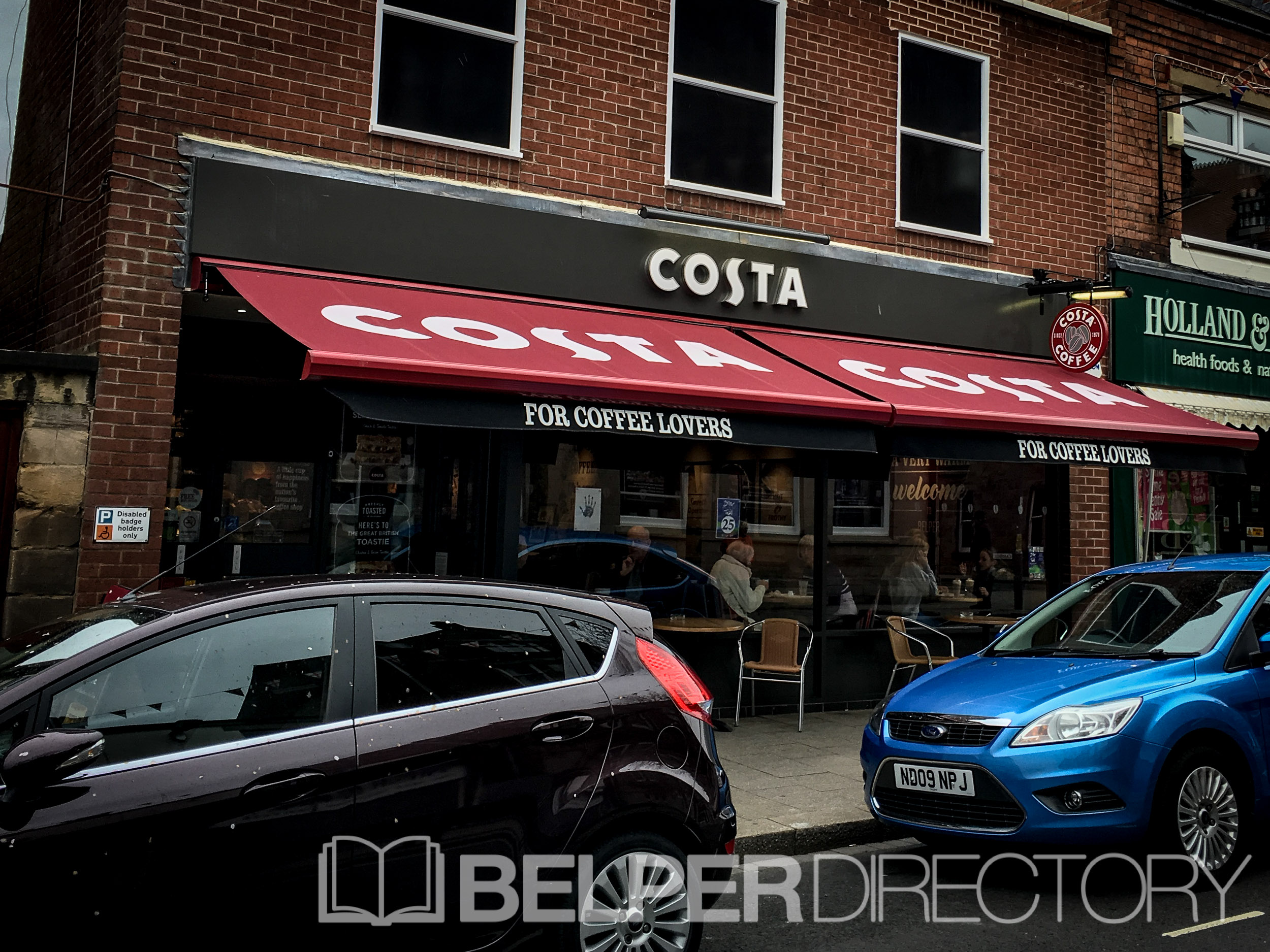 Costa Coffee on Inter Search