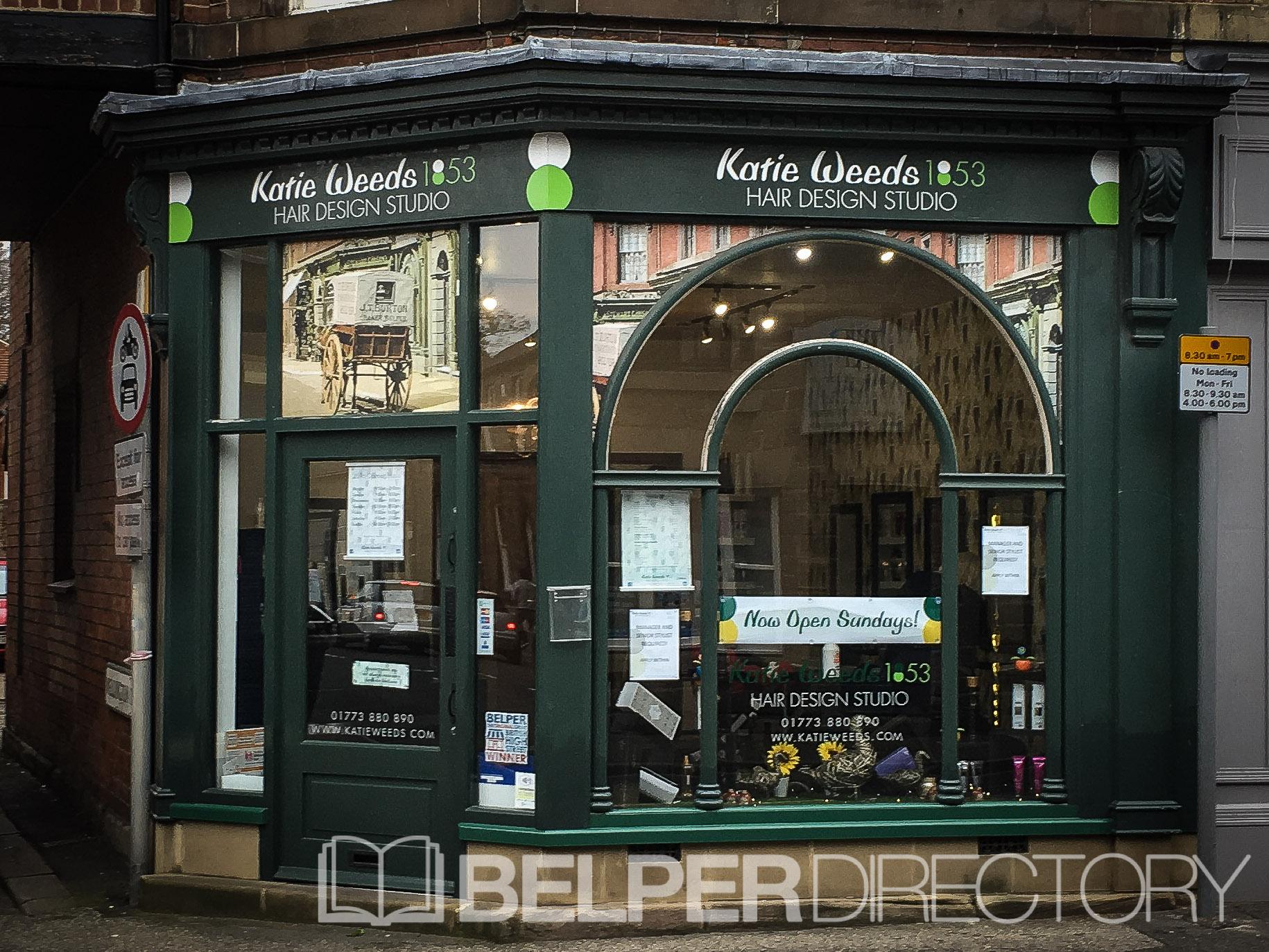 Katie Weeds 1853 Hair Design Studio on Inter Search