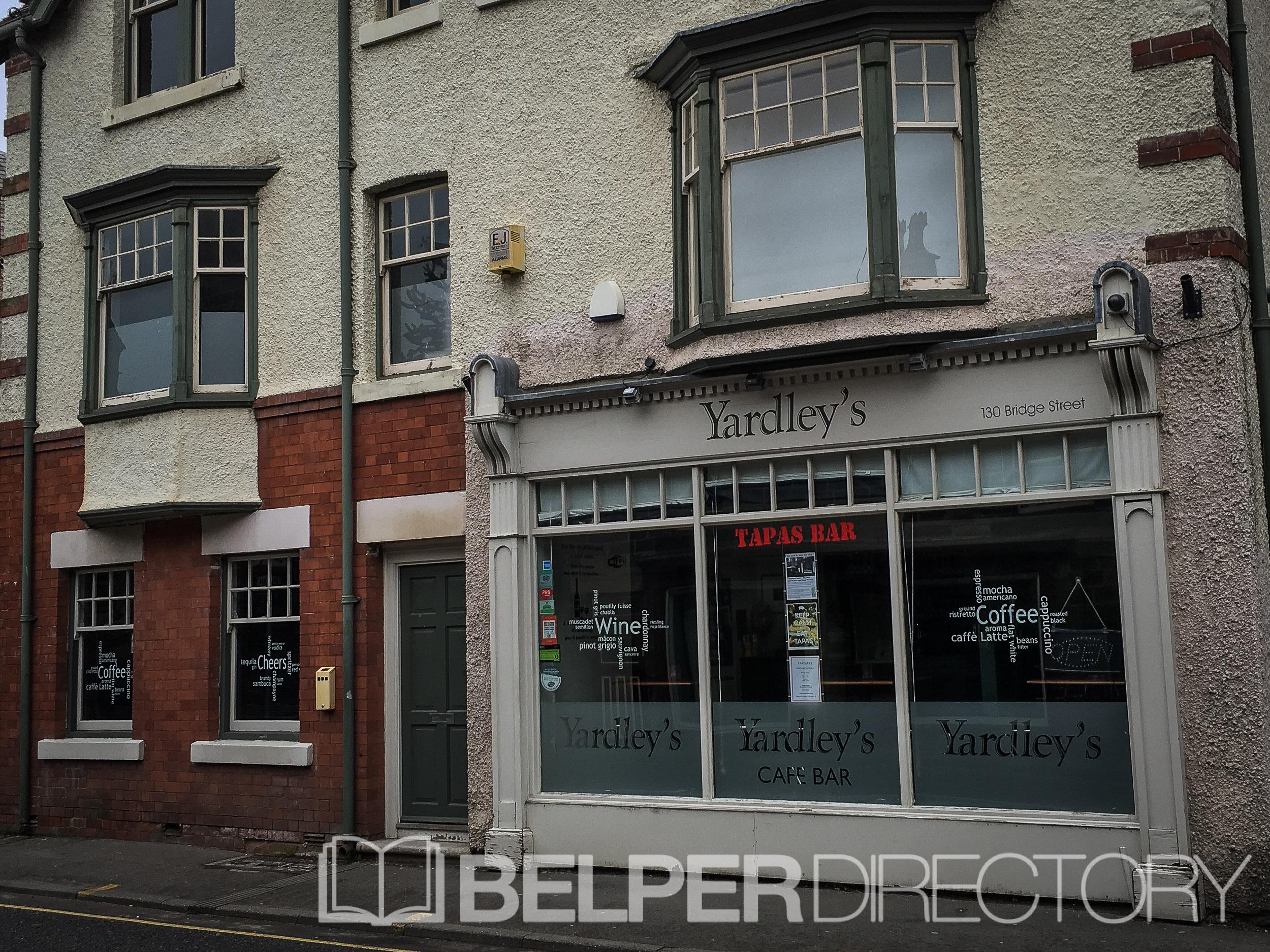 Yardleys Tapas & Wine Bar on Inter Search