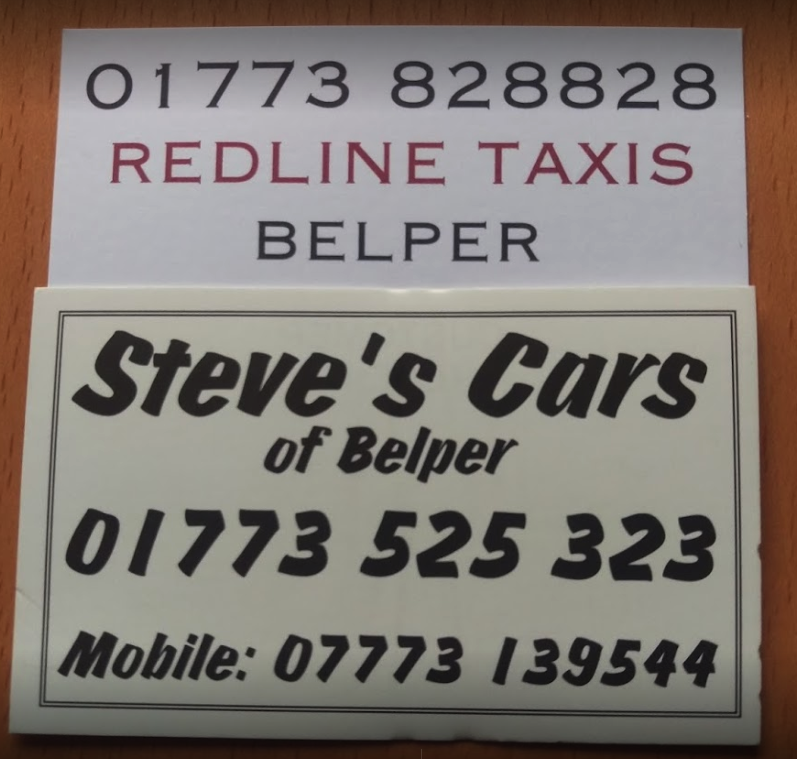 Steves & Redline Cars Belper - Taxi on Inter Search