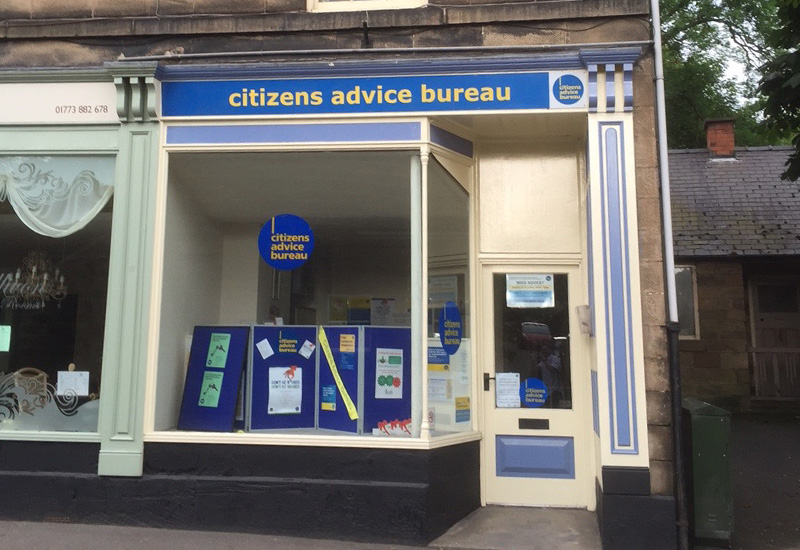 Citizens Advice Bureau on Inter Search