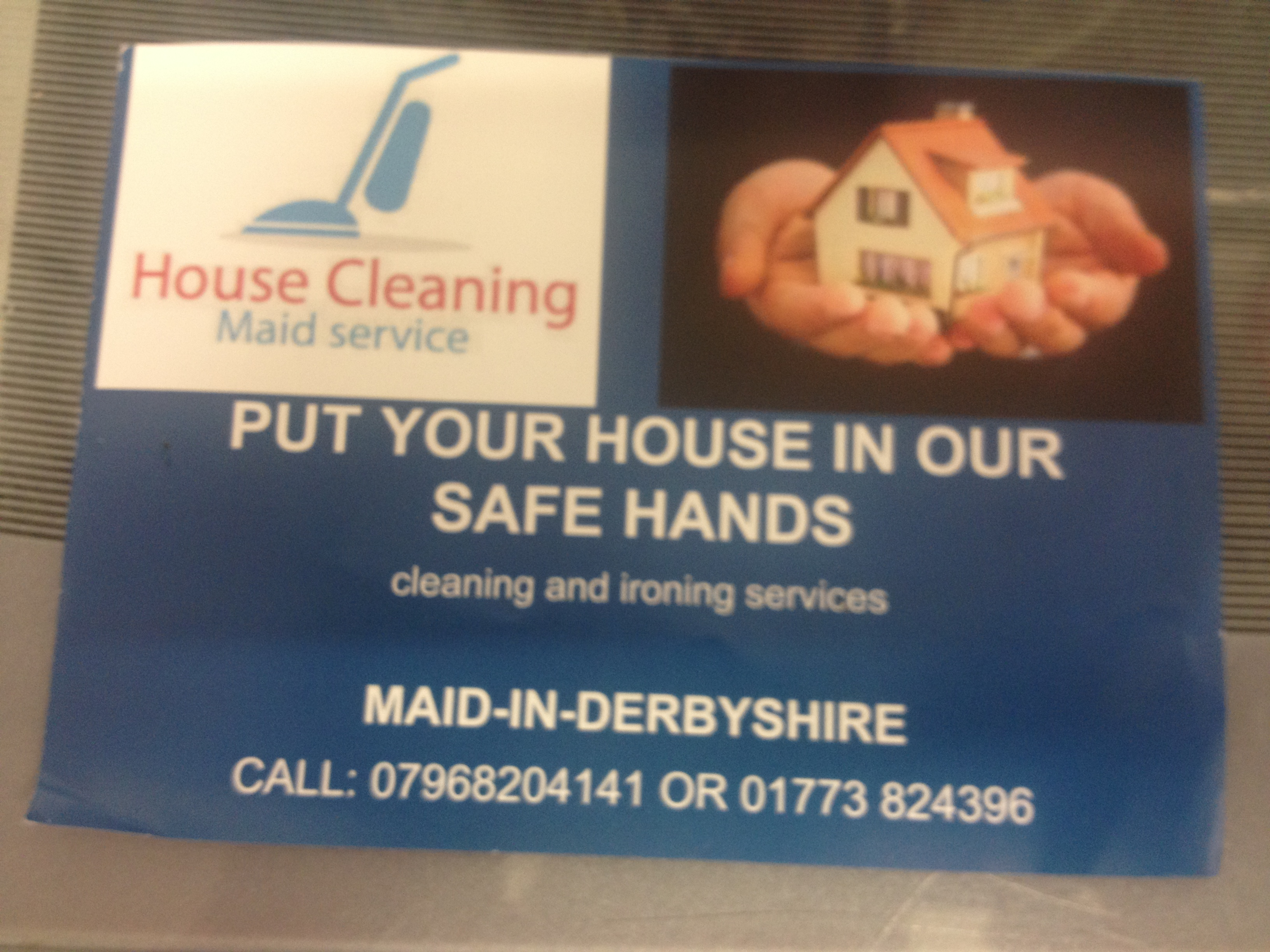 Maid in Derbyshire Cleaning Services on Inter Search
